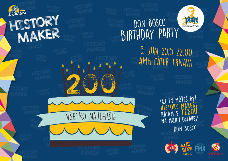 Don Bosco birthday party