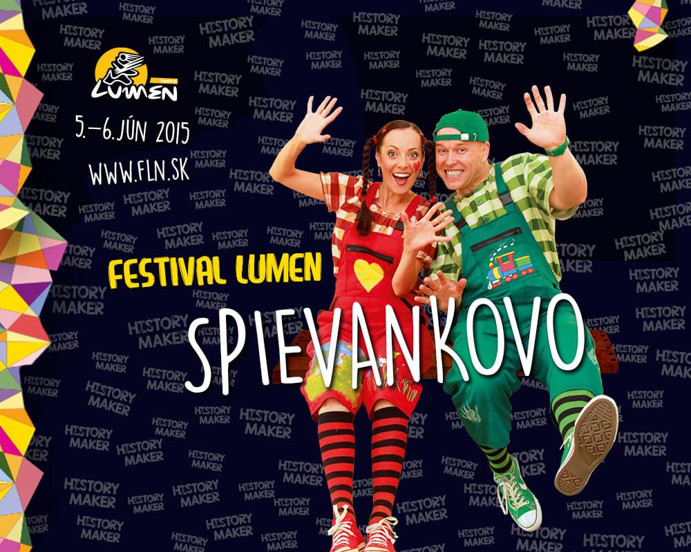 Spievankovo na Festivale Lumen
