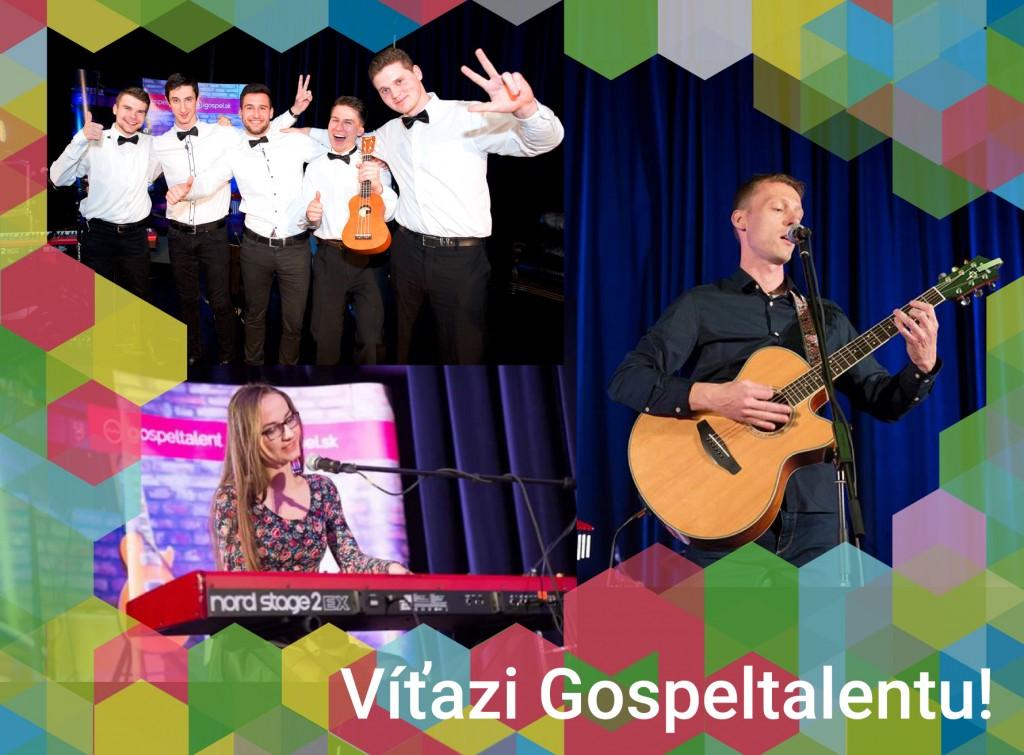 Predstavujeme víťazov Gospeltalentu